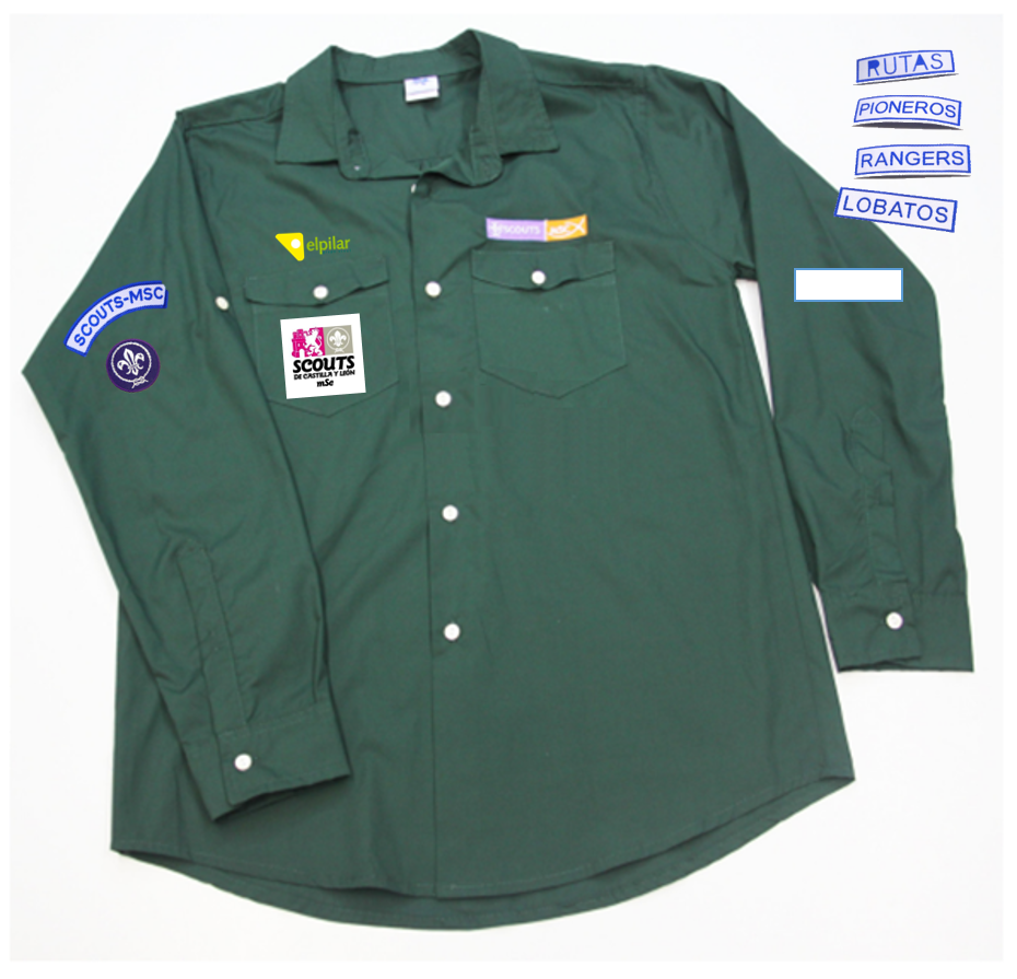 Camisa Scout