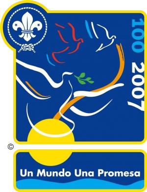 Logo Centenario Scout Mundial